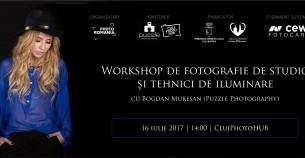 Workshop de fotografie de studio si tehnici de iluminare