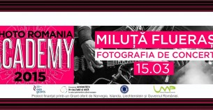 Concert Photography Workshop with Miluţă Flueras