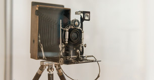 Historical Photo Equipments and Images, at the Temporary Exhibition on Photography History