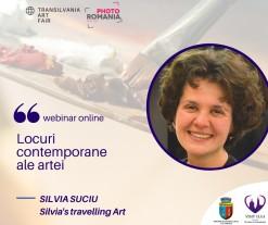 Locuri contemporane ale artei cu Silvia Suciu